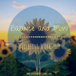balance and flow well-being workshop